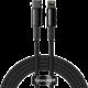 BASEUS kabel Tungsten Gold, USB-C - Lightning, M/M, rychlonabíjecí, datový, 20W, 2m, černá