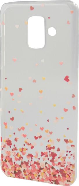 EPICO pružný plastový kryt pro Samsung Galaxy A6 (2018), flying hearts