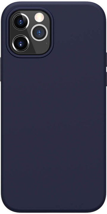 "Nillkin silikonové pouzdro Flex Pure Liquid pro iPhone 12/ 12 Pro (6.1""), modrá"