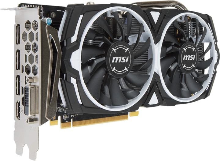 MSI Radeon RX 570 ARMOR 8G OC, 8GB GDDR5
