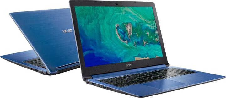 Acer Aspire 3 (A315-53-P0U4), modrá