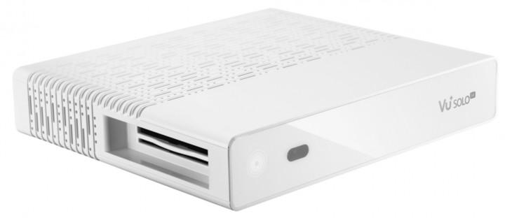 VU+ Solo SE V2 (1x dual DVB-T2/T/C), bílá