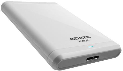 ADATA HV100 - 2TB, bílá