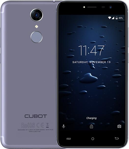 CUBOT Note Plus - 32GB, modrá
