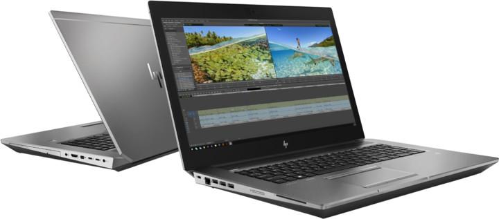 HP ZBook 17 G6, stříbrná