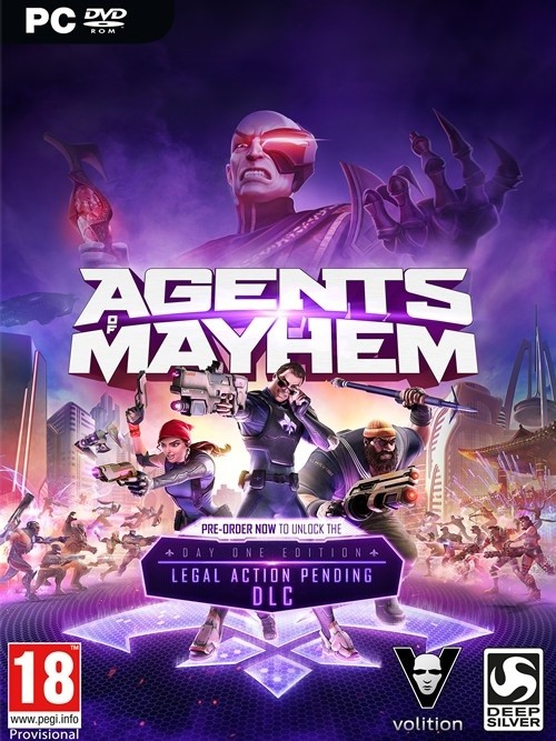 Agents of Mayhem: Day One Edition (PC)
