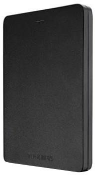Toshiba Canvio Alu 3S - 2TB, černá