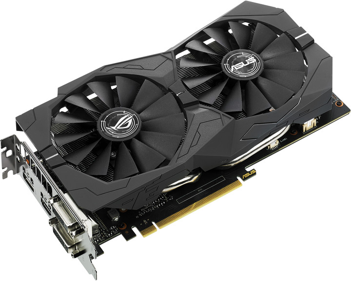 ASUS GeForce GTX 1050 ROG STRIX-GTX1050-O2G-GAMING, 2GB GDDR5
