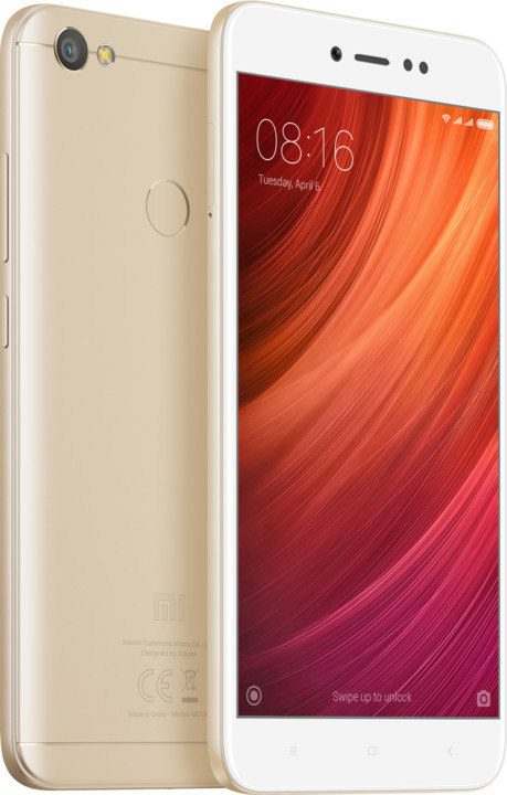 Xiaomi Redmi Note 5A Prime - 32GB, Global, zlatá