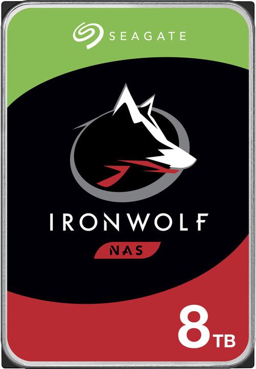 "Seagate IronWolf, 3,5"" - 8TB"