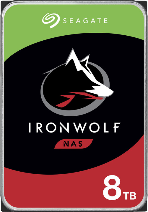 "Seagate IronWolf, 3,5"" - 8TB"