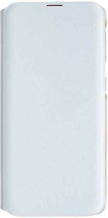 Samsung flipové pouzdro Wallet Galaxy A20e, bílá