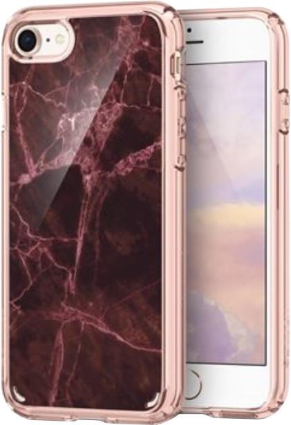 Spigen Ultra Hybrid 2 Marble iPhone 7/8, červená