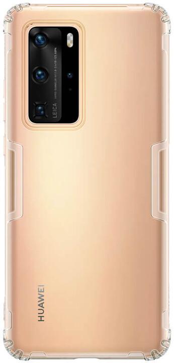 Nillkin Nature TPU pouzdro pro Huawei P40 Pro, transparentní