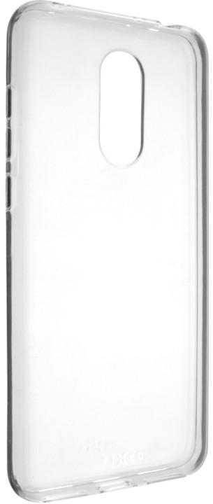 FIXED Skin ultratenké TPU gelové pouzdro pro Xiaomi Redmi 5 Plus Global, 0,6 mm, čiré
