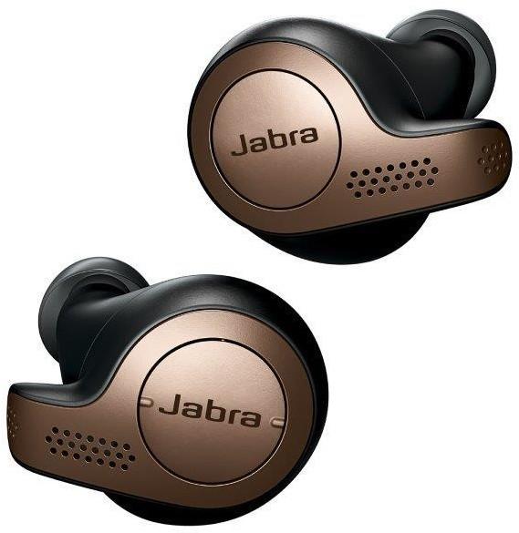 Jabra Elite 65t, měděně černá