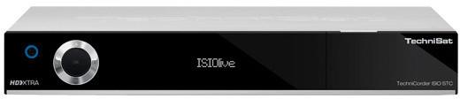 TechniSat DIGIT ISIO STC, 4K, stříbrná