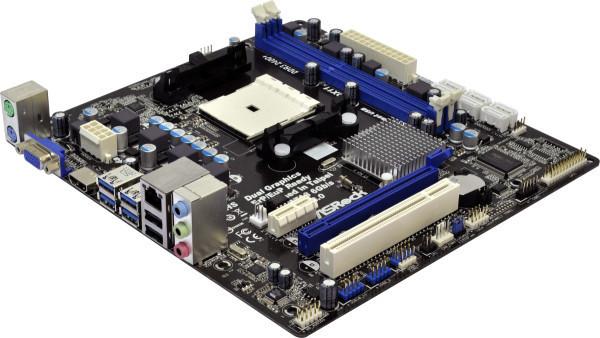 ASRock A75M-HVS - AMD A75