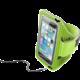 """CellularLine sportovní soft pouzdro ARMBAND FITNESS, pro smartphony do velikosti 5,2"""", limetková"""