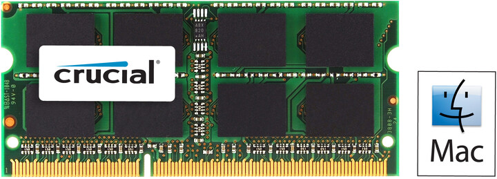 Crucial Mac Compatible 8GB DDR3 1600 SO-DIMM