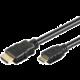 PremiumCord HDMI A - HDMI Mini C, 1m