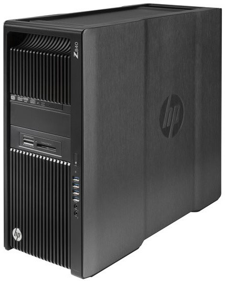 HP Z840, černá
