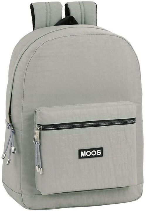"CurePink batoh MOOS na notebook 15.6"", šedá"