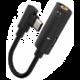 Mcdodo audio redukce z USB-C- na DC 3.5mm, černá