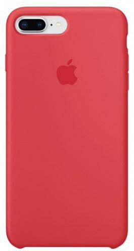 Apple silikonový kryt na iPhone 8 Plus / 7 Plus, malinově červená