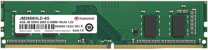Transcend 4GB DDR4 2666 CL19