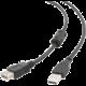 Gembird CABLEXPERT kabel USB A-A 4,5m 2.0 prodlužovací HQ s ferritovým jádrem