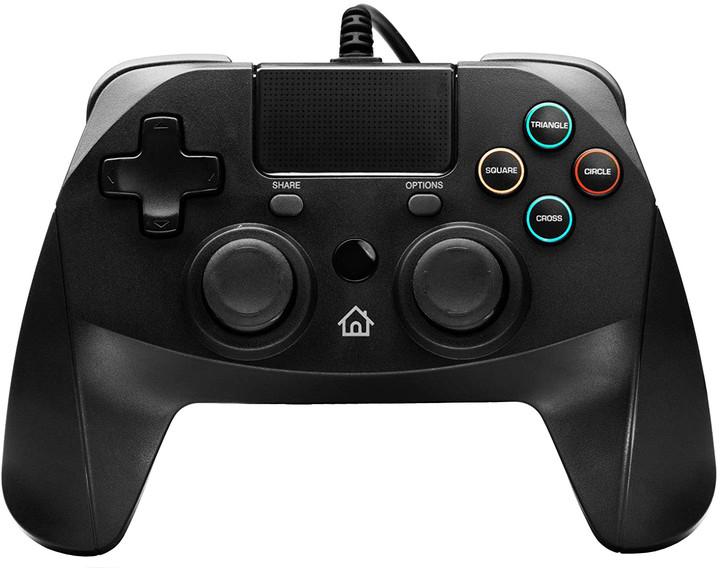 Snakebyte Game:Pad 4 S, černý (PS4, PS3)