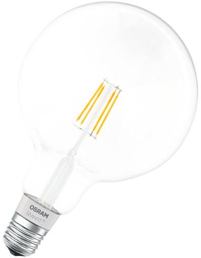 Osram Smart+ Filament Globe60 - LED žárovka Apple HomeKit, 5,5W, E27