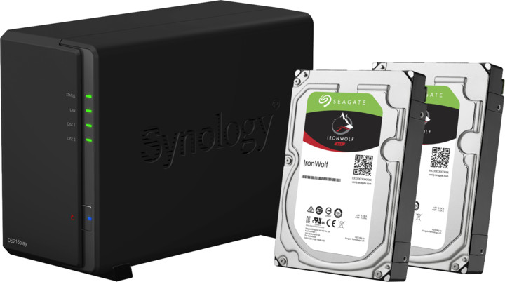 Synology DS216play DiskStation 4TB