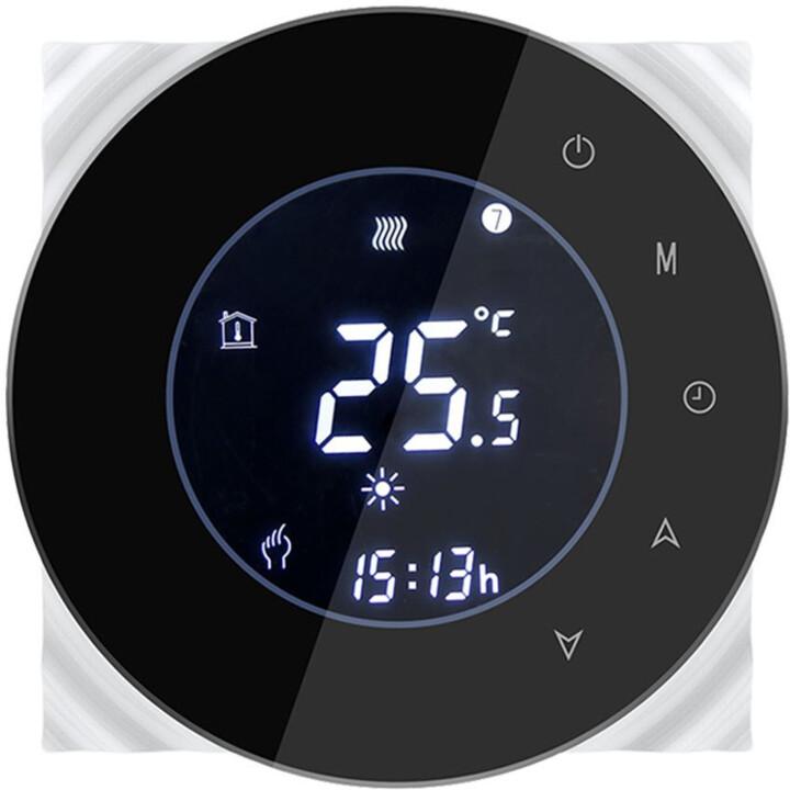 iQtech SmartLife termostat pro kotle GCLW-W, se spínačem, bílá