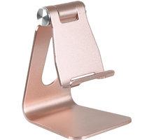 Desire2 univerzální hliníkový stojánek pro mobilní telefony, růžovozlatý WTT-AS05RG