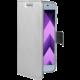 CELLY Air Pouzdro typu kniha pro Samsung Galaxy A3 (2017), PU kůže, stříbrné