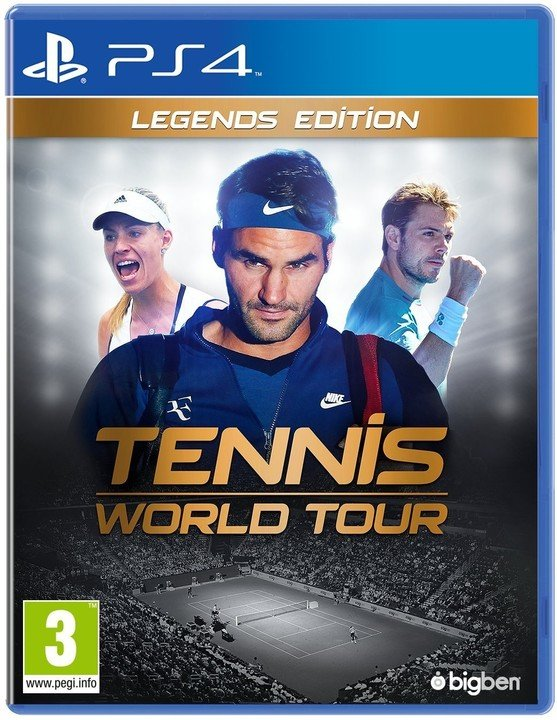 Tennis World Tour - Legends Edition (PS4)