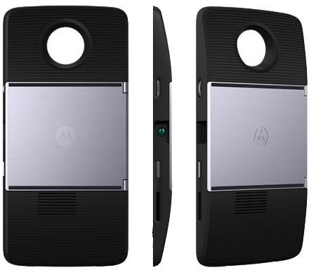 Lenovo Moto Mods DLP projektor Insta - share Black