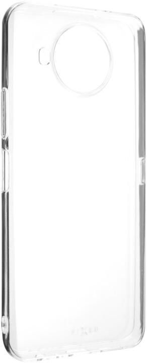 FIXED TPU gelové pouzdro pro Nokia 8.3, čirá