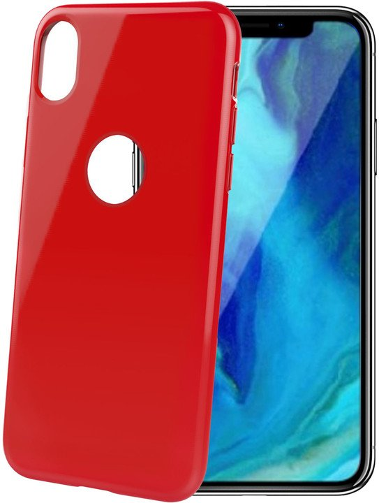 CELLY pouzdro TPU Gelskin pro Apple iPhone Xr, červené