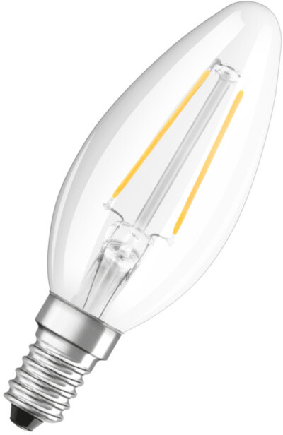 Osram LED Filament STAR ClasB  2,5W 827 E14 noDIM A++ 2700K