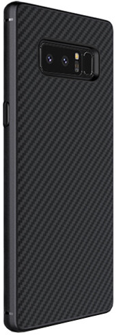 Nillkin Synthetic Fiber ochranný zadní kryt pro Samsung N950 Galaxy Note 8, černá