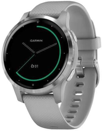Garmin Vívoactive 4S Silver/Gray Band