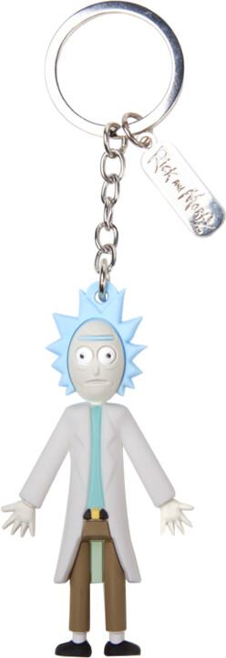 Klíčenka Rick and Morty - Rick 3D