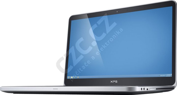 Dell XPS 15, stříbrná