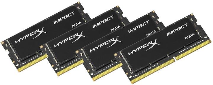 HyperX Impact 32GB (4x8GB) DDR4 2400 SO-DIMM