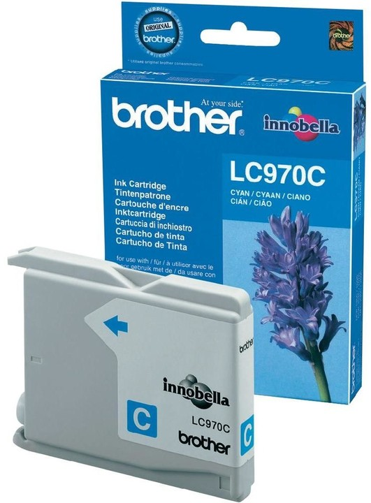 Brother LC-970C, cyan