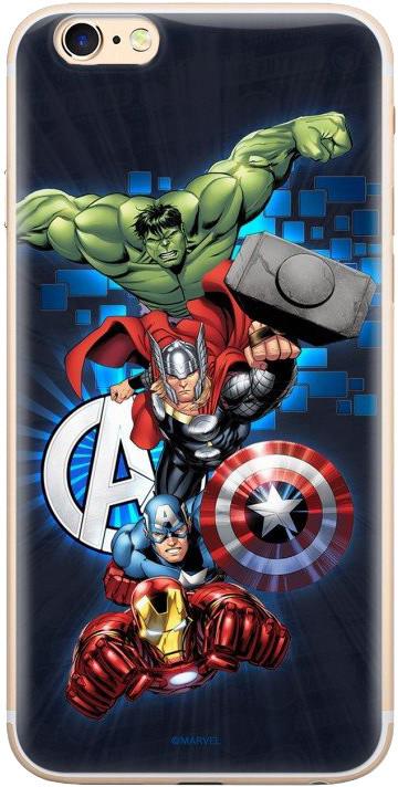 MARVEL Avengers 001 zadní kryt pro Huawei Y6 2018, tmavě modrá