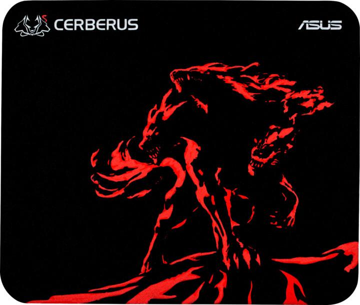 ASUS Cerberus Mat Mini, červená